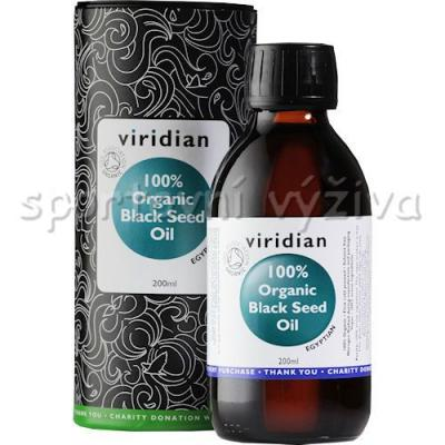 Viridian Black Seed Oil Organic - BIO 200ml