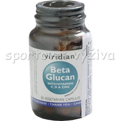 Beta Glucan With Vitamins C,D +Zinc 30 kapslí