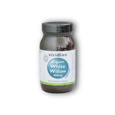 White Willow Bark 400mg Organic - BIO 90 cps