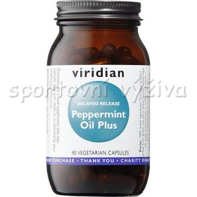 Viridian Peppermint Oil Plus 90 kapslí