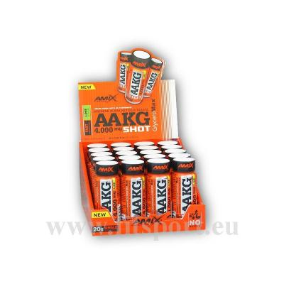 AAKG Shot 4000mg Box 20x60ml-lemon