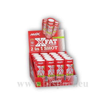 X-Fat 2 in 1 Shot Box 20x60ml-fruity