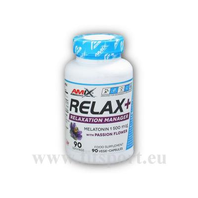 Relax + relaxation manager 90 kapslí