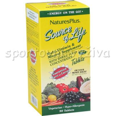 Source of Life Multi-Vitamin + Mineral 90 tb.