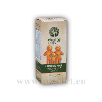 Liposomal Vitamin C 500mg 250ml pomeranč