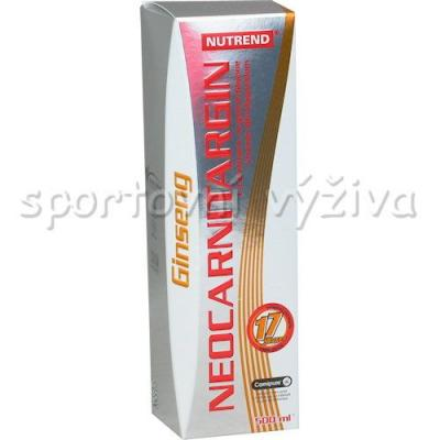 Neo Carnitargin s ženšenem 500ml citron