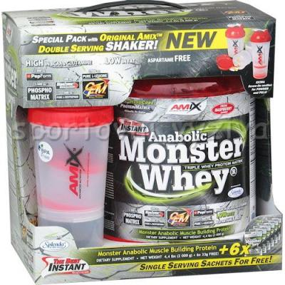 Anabolic Monster Whey 2200g + Monster