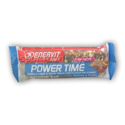 Power Time outdoor bar 30g gluten free-quinoa-ovoce