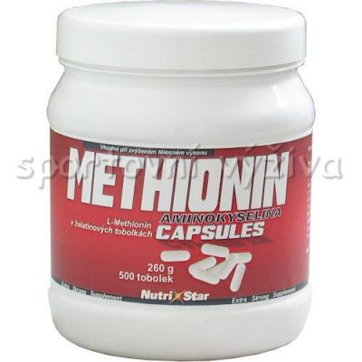 Methionin 400mg 500 kapslí