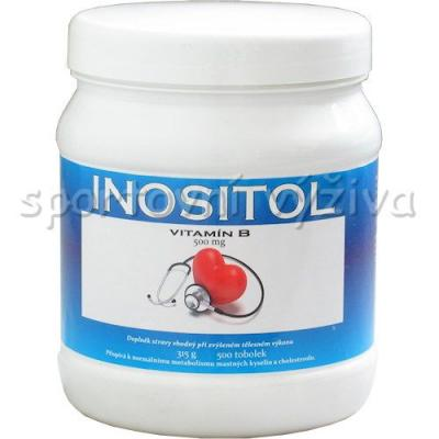 Inositol 500mg 500 kapslí